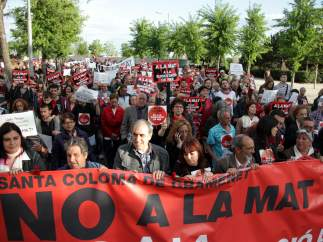 Protesta contra la MAT