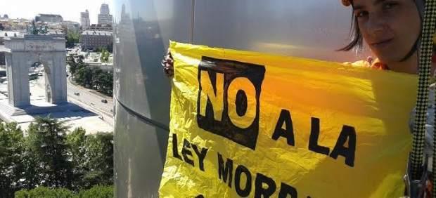 Protestas de Greenpeace