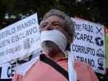 Protesta contra la 'Ley Mordaza'