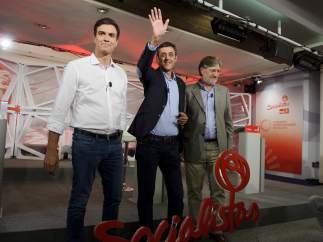 Los candidatos a Secretario General del PSOE