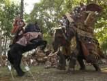 El elefante de la película 'Alejandro Magno'