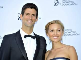 Novak Djokovic y Jelena Ristic