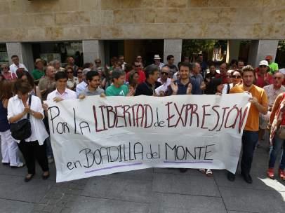 Concentración de apoyo a Puigcorbé
