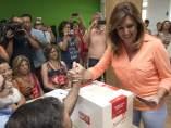 Susana Díaz, presidenta de la Junta y líder del PSOE-A
