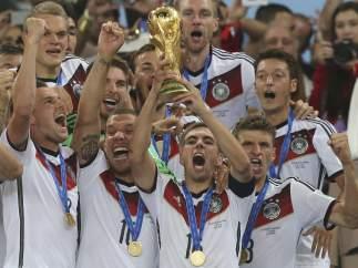 Alemania, campeona del mundo