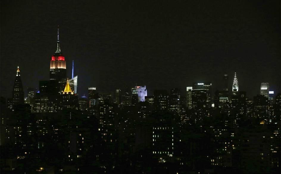 El edifício Empire State homenajea um Alemania