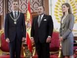 Visita de los reyes a Marruecos
