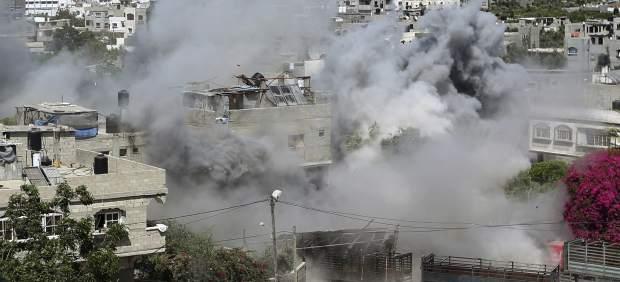Ataques aéreos en Gaza