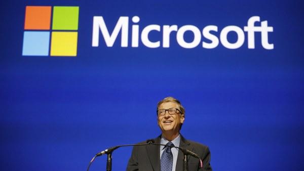 Bill Gates, presidente de Microsoft.