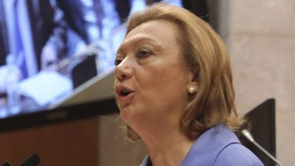 La presidenta de Aragón, Luisa Fernanda Rudi.
