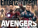 Portada de la revista Entertaiment Weekly con Los Vengadores