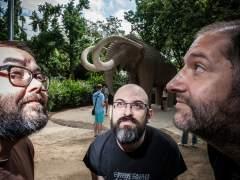 Luis Bustos, Manel Fontdevila y Albert Monteys