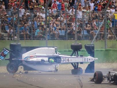Accidente de Felipe Massa en el GP de Alemania