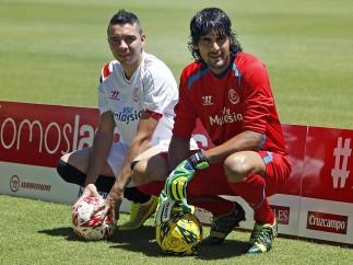 Iago Aspas y Barbosa, fichajes del Sevilla.