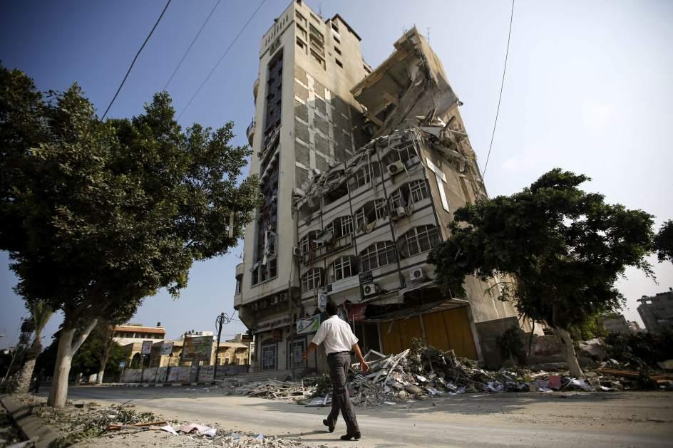 Sigue la destrucción en Gaza