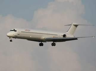 Avión de Swiftair