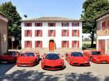 Ferrari LaFerrari, Enzo, F50, F40 y 288 GTO juntos