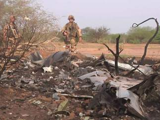 Se estrella en Malí un avión de Swiftair