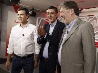 Sánchez, Madina y Pérez Tapias