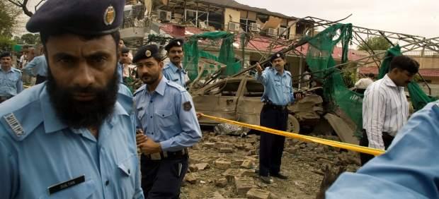 Policía en Paquistán