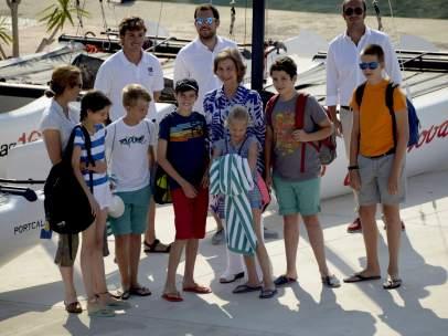 Vacaciones de la familia real