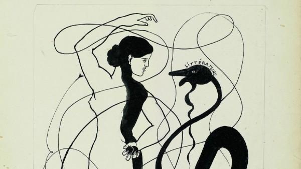 Picabia Projet de couverture Littérature 1922-1924