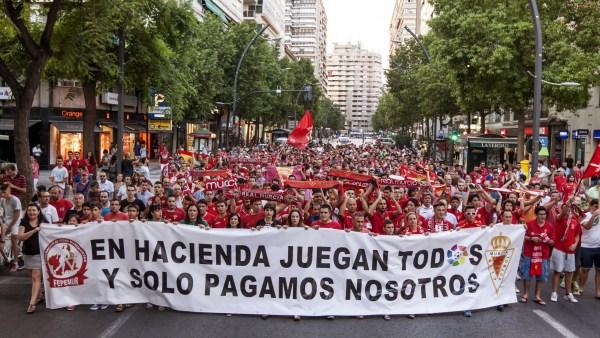 Aficionados del Murcia