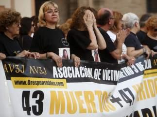 Víctimas del metro de Valencia