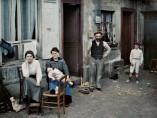 Frankreich, Paris, Eine Familie in der Rue du Pot de fer, 24. Juni 1914