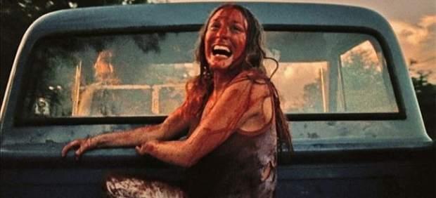 Marilyn Burns en 'La matanza de Texas'.