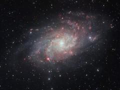 La imagen m�s clara de la galaxia Messier 33