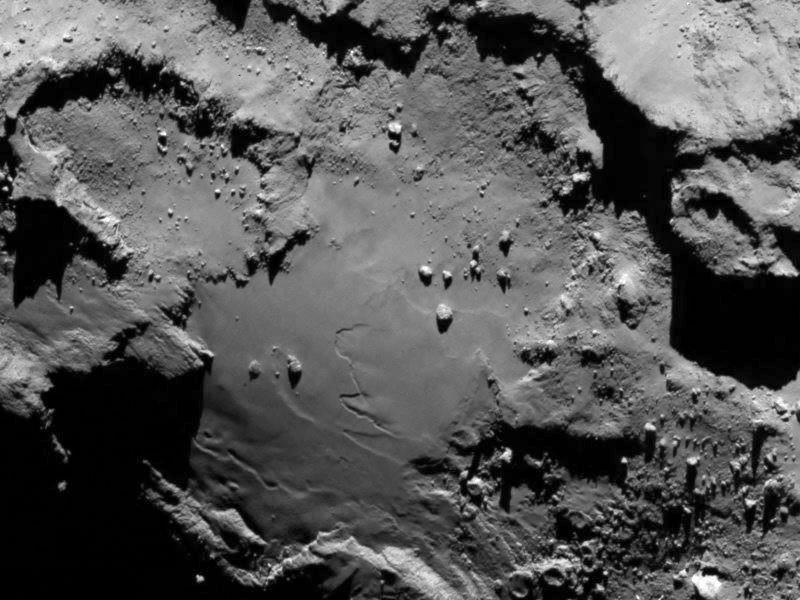 La sonda Rosetta se encuentra con un cometa