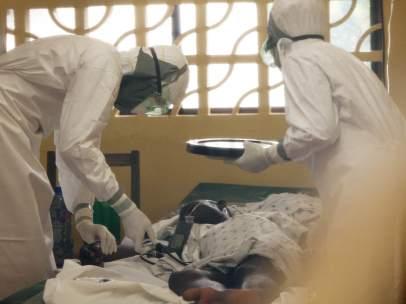 Tratamiento contra el ébola