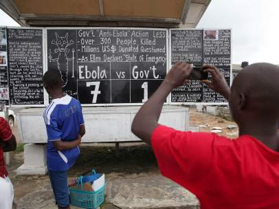 Expansión del ébola