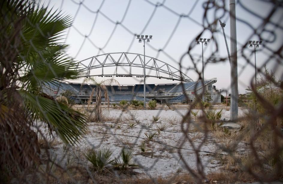 Estado de las instalaciones olímpicas de Atenas