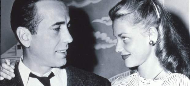 Humprey Bogart y Lauren Bacall