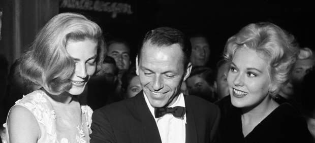 Lauren Bacall, Frank Sinatra y Kim Novak