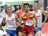 Miguell Ángel López, oro en 20km marcha
