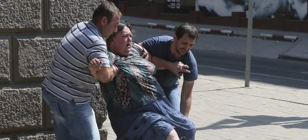 Ataque del Ejército Ucraniano en Donetsk