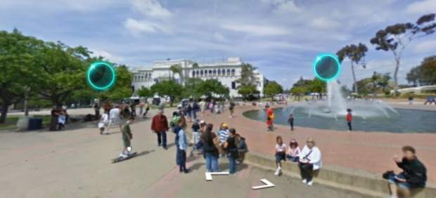 Sonido en Street View
