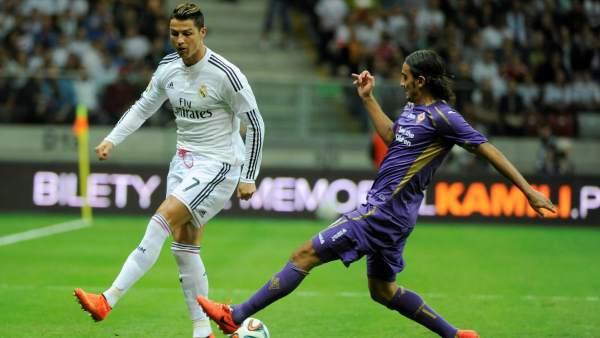 El Real Madrid pierde ante la Fiorentina en el debut de Keylor Navas como portero blanco