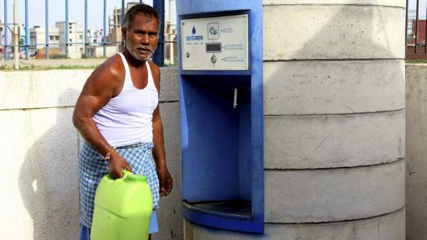 Cajeros de agua