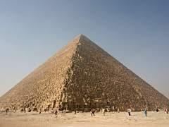 Descubren cómo se movían las piedras de la gran pirámide de Guiza