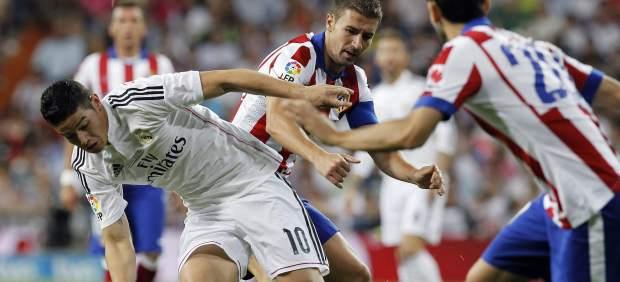 James Rodríguez en el Madrid - Atlético