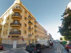 Calle Santiago Ap�stol en Huelva.