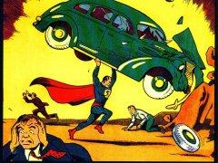 Primer n�mero de Action Comics, con el debut de Superm�n