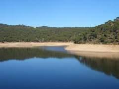 Vistas del Pantano de San Juan (Madrid)