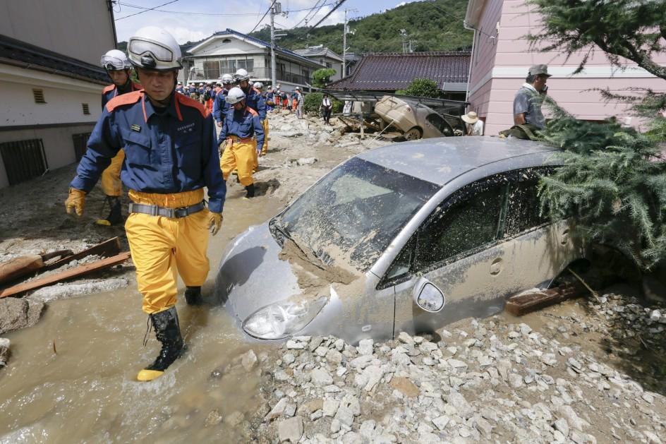 Se elevan a 39 los fallecidos en Japón por las lluvias torrenciales