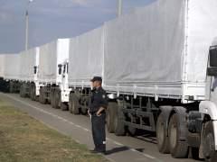 Convoy hacia Ucrania