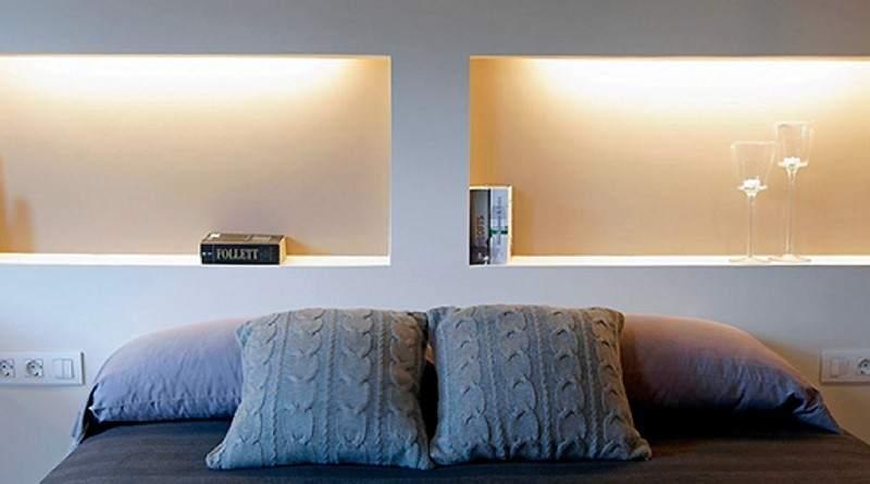 Ventajas e inconvenientes de usar pladur para hacer reformas for Muebles de pladur para salon fotos